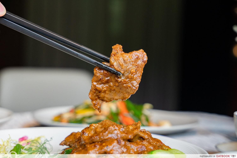 beef in satay sauce paradise teochew