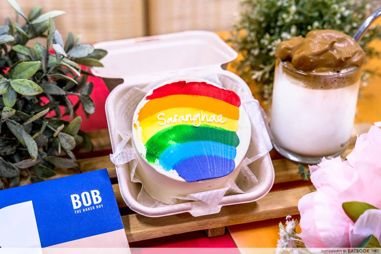 bob the baker boy - Korean bento cakes