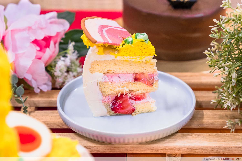 bob the baker boy - Light Japanese Strawberry Shortcake