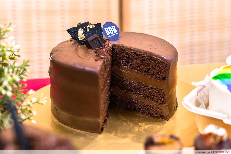 bob the baker boy - Signature 55% Belgian Chocolate Cake