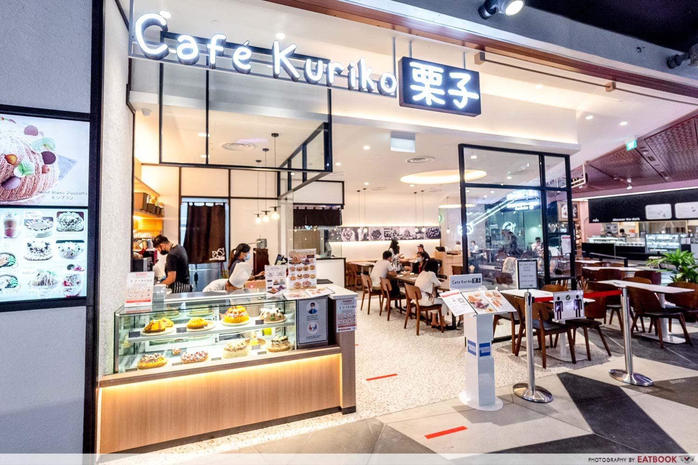 cafe kuriko - storefront