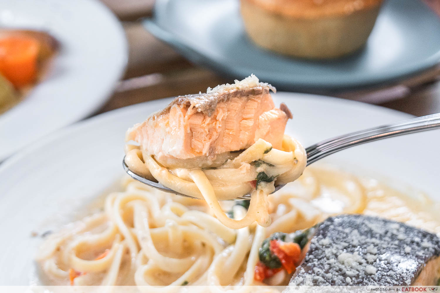 creamy tuscan butter pasta