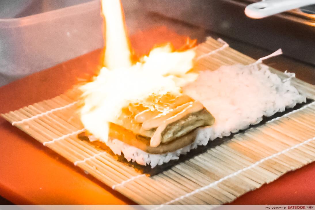 eatbox 2021 - mentaiko onigiri