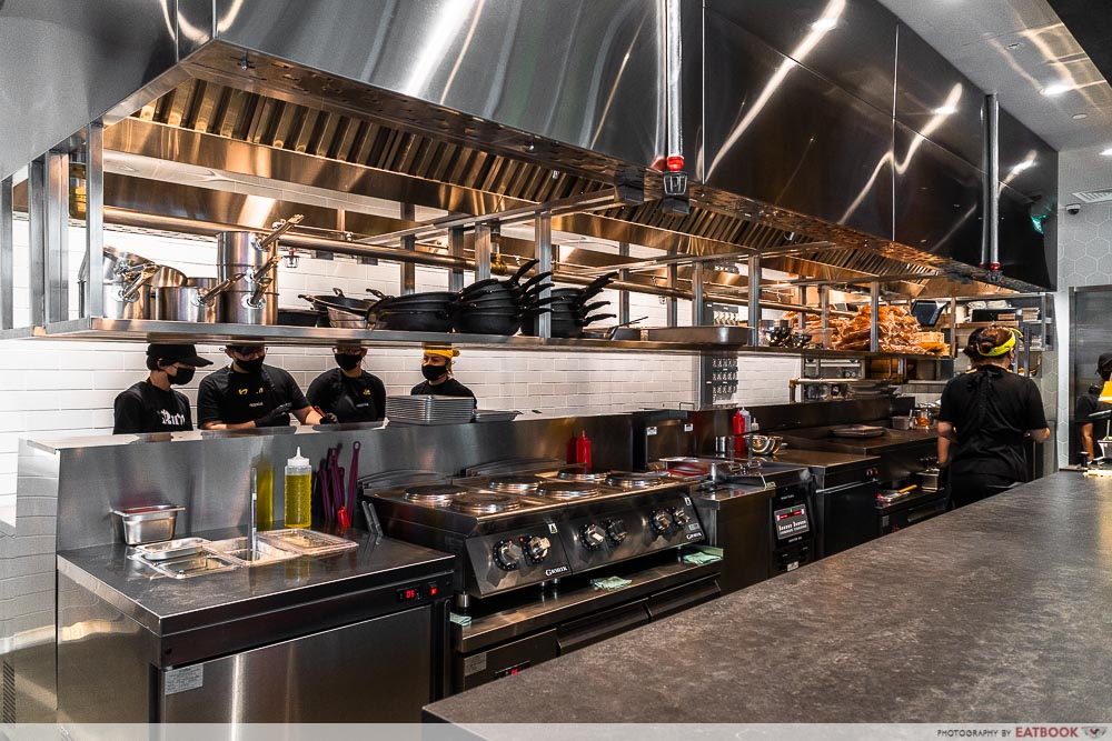 eggslut - open kitchen