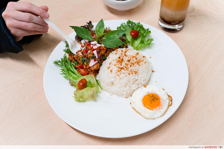 fairprice basil rice
