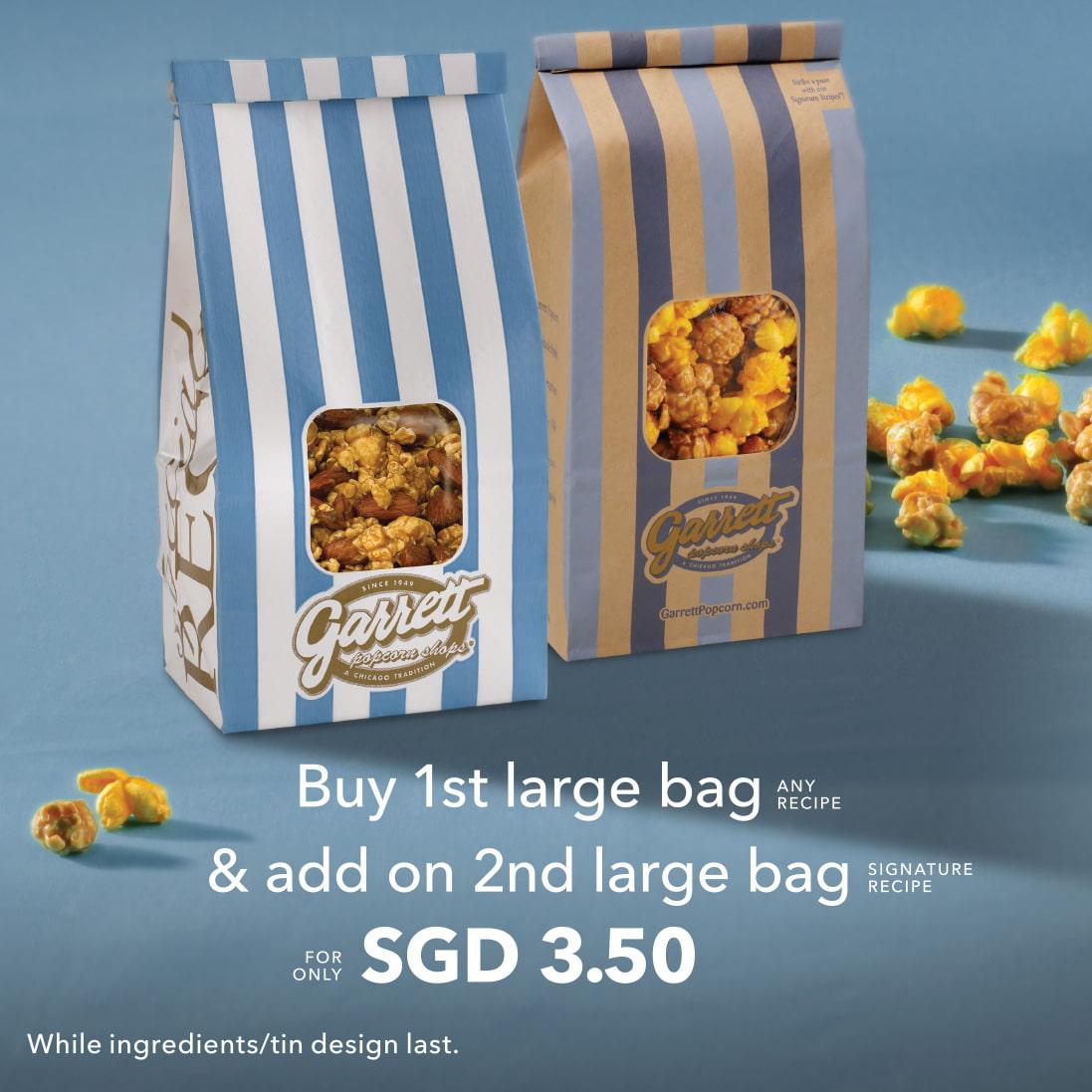 garrett popcorn promotion