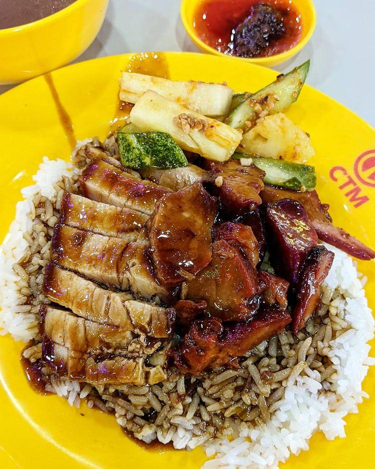 ho bee char siew siew yoke rice