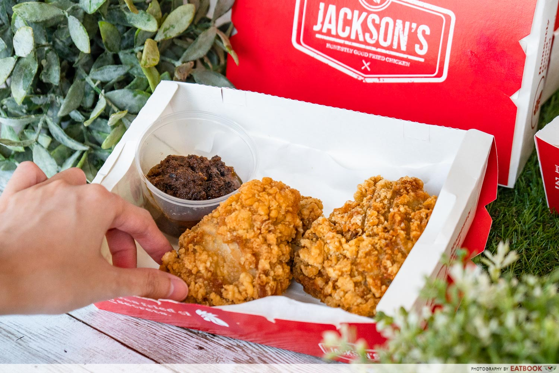 jackson's fried chicken - set