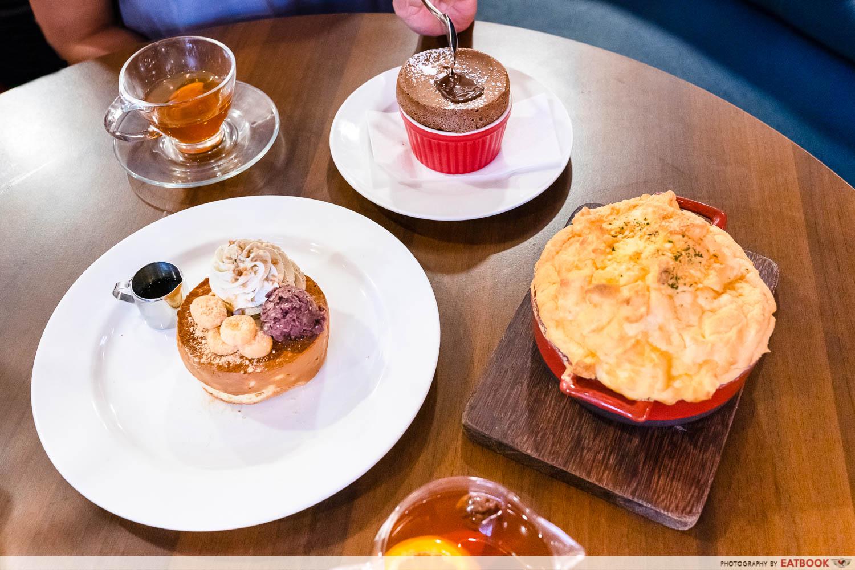 miam miam - pancake, souffle rice, souffle