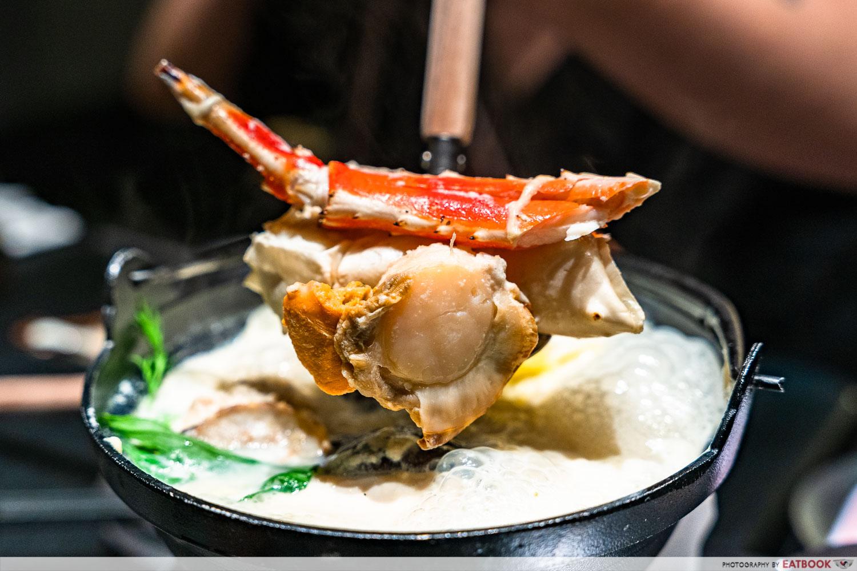nabemono crab