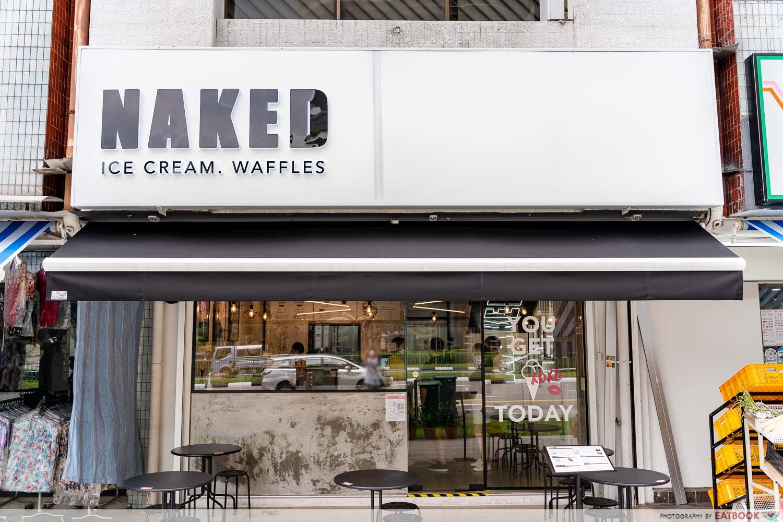 naked ice cream - storefront