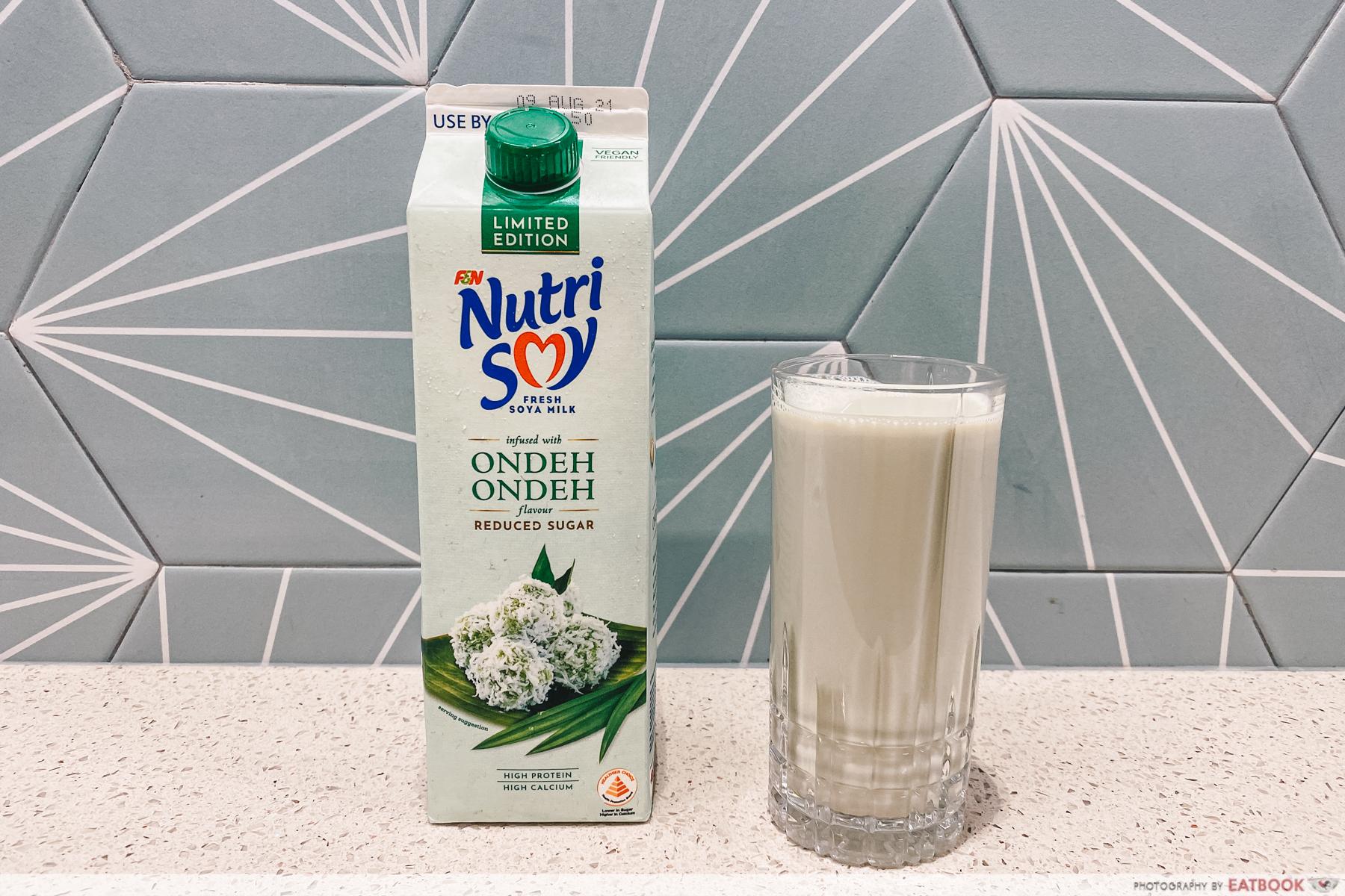 nutrisoy ondeh ondeh soy milk
