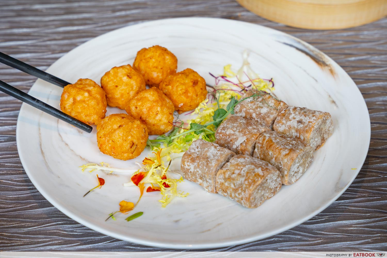 pork ball and ngoh hiang