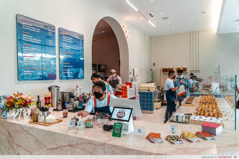 sourbombe artisanal bakery counter-min