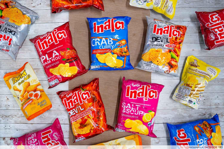 thai potato chips