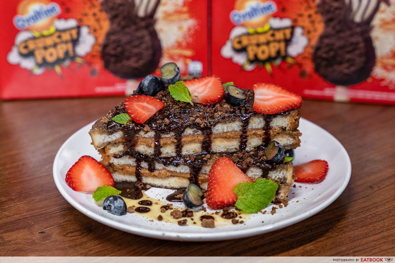 wall's ovaltine crunchy pop ice cream - french toast final