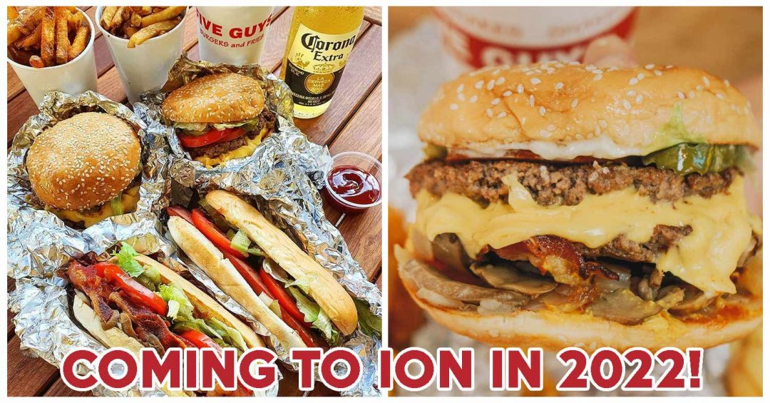 Five Guys opening in 2022