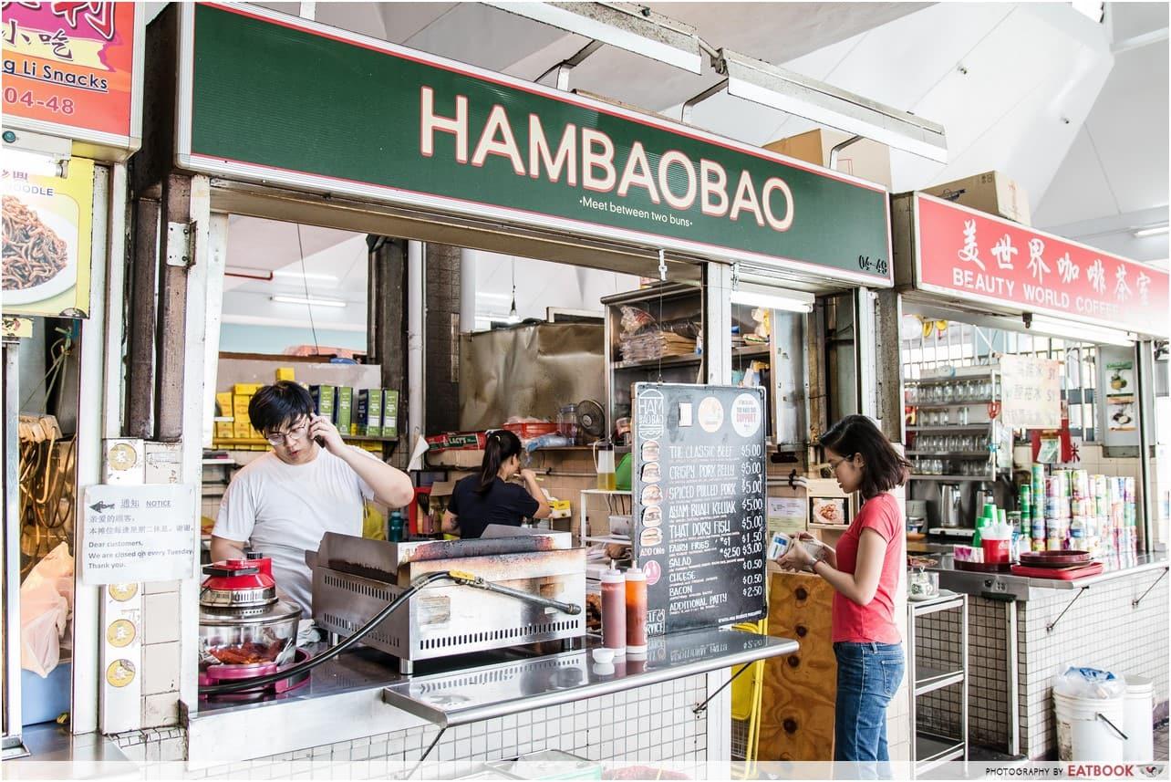 hambaobao stall