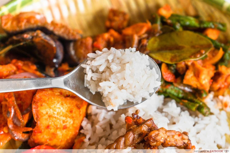 og lemak review nasi lemak rice