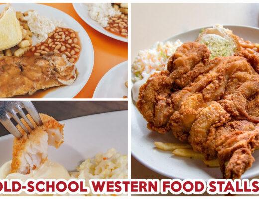 OLD SCHOOL WESTERN FOOD STALLS