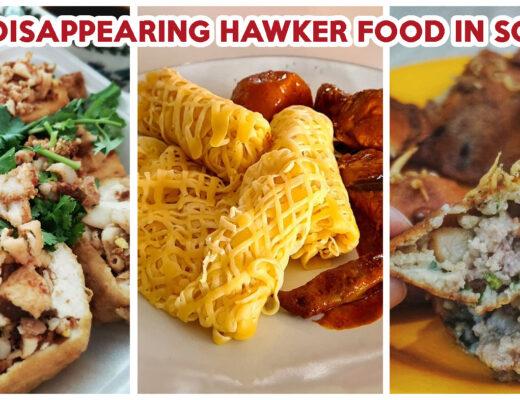 Rare hawker dishes in sg