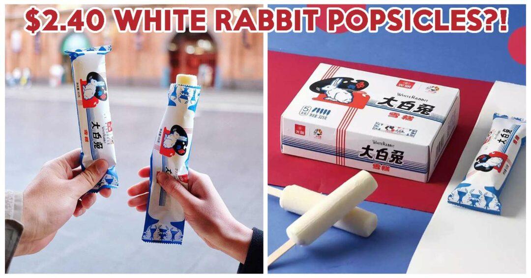 WHITE RABBIT POPSICLES