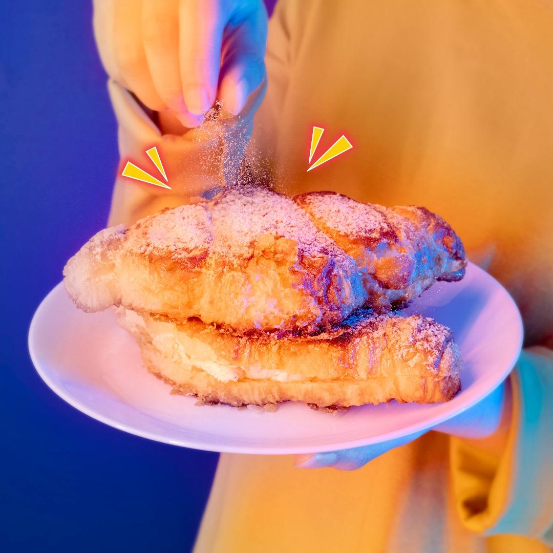 breadtalk pudding roll - Brown Sugar Injeolmi Korissant