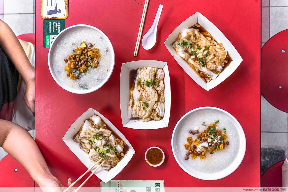 chef leung - flatlay