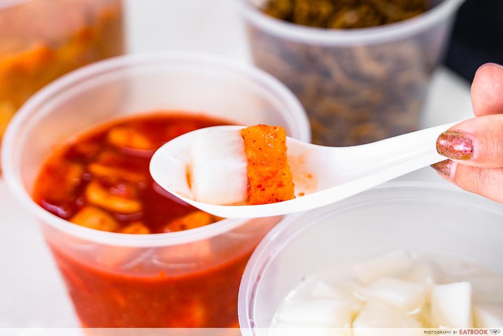 chelabela - radish kimchi