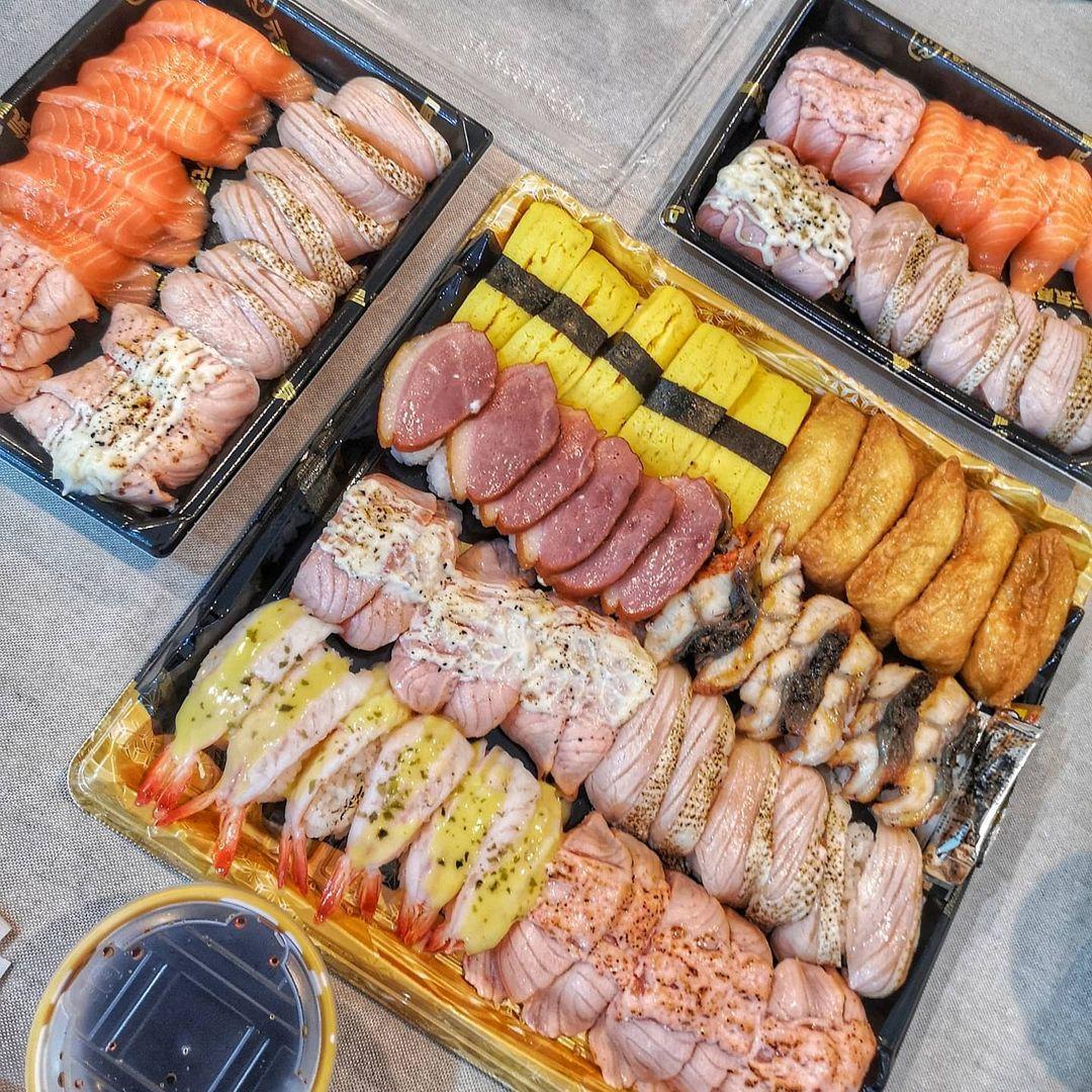genki sushi sushi platter