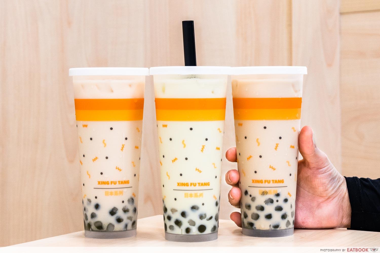 milk teas xing fu tang