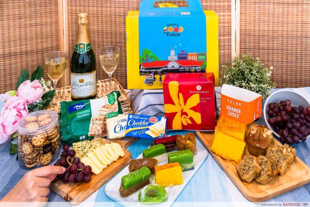 singapore food festival 2021 - glamping picnic