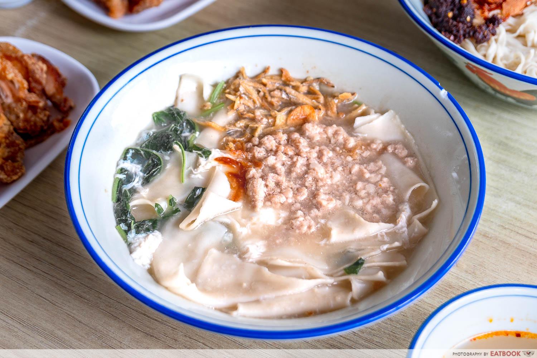 soup ban mian