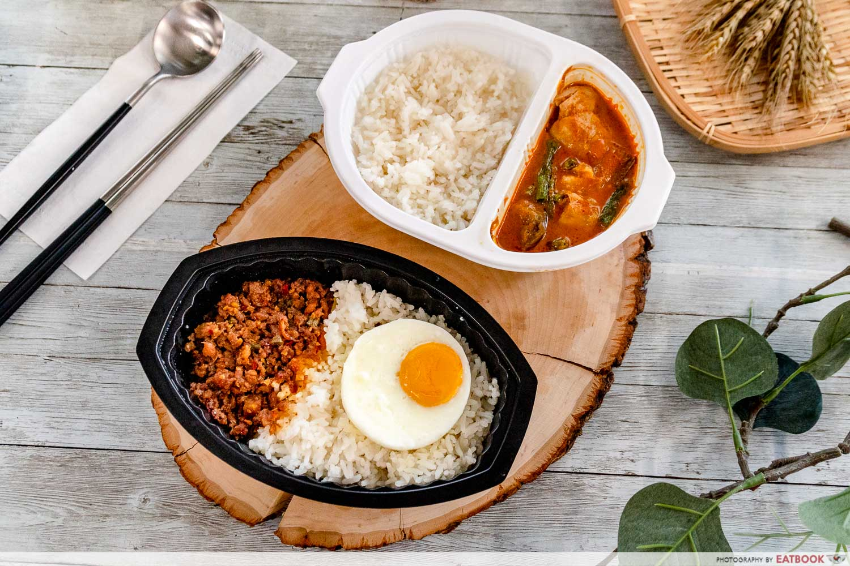7-eleven thai food - Thai Basil Chicken with Rice