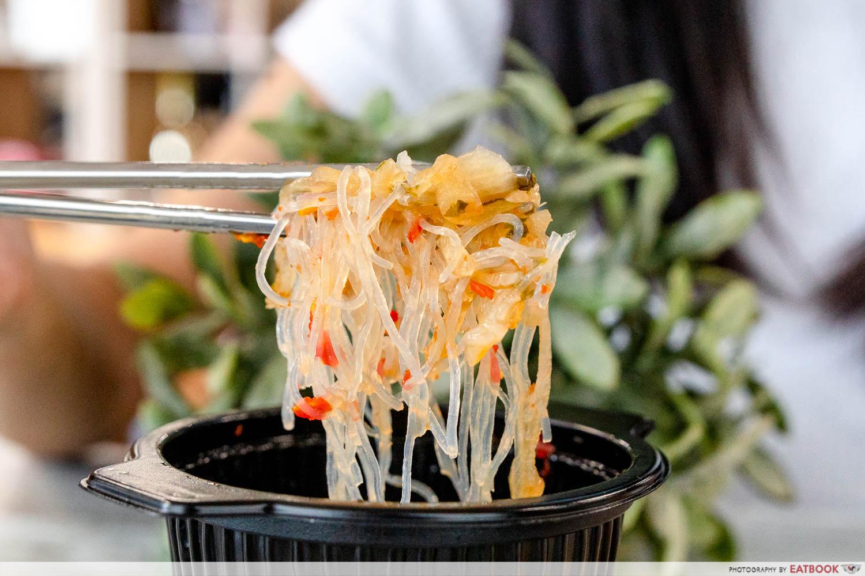 7-eleven thai food - Thai Glass Noodle Salad