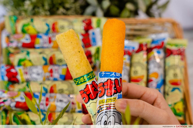 corn stick fairprice japan korea fair snacks