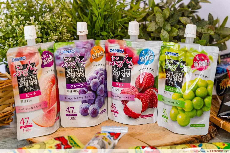 fairprice japan korea fair jelly drinks
