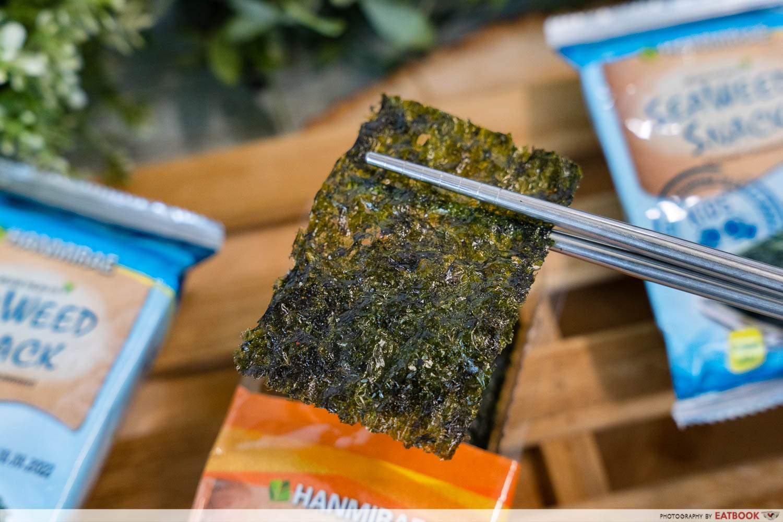 fairprice japan korea fair seaweed snack