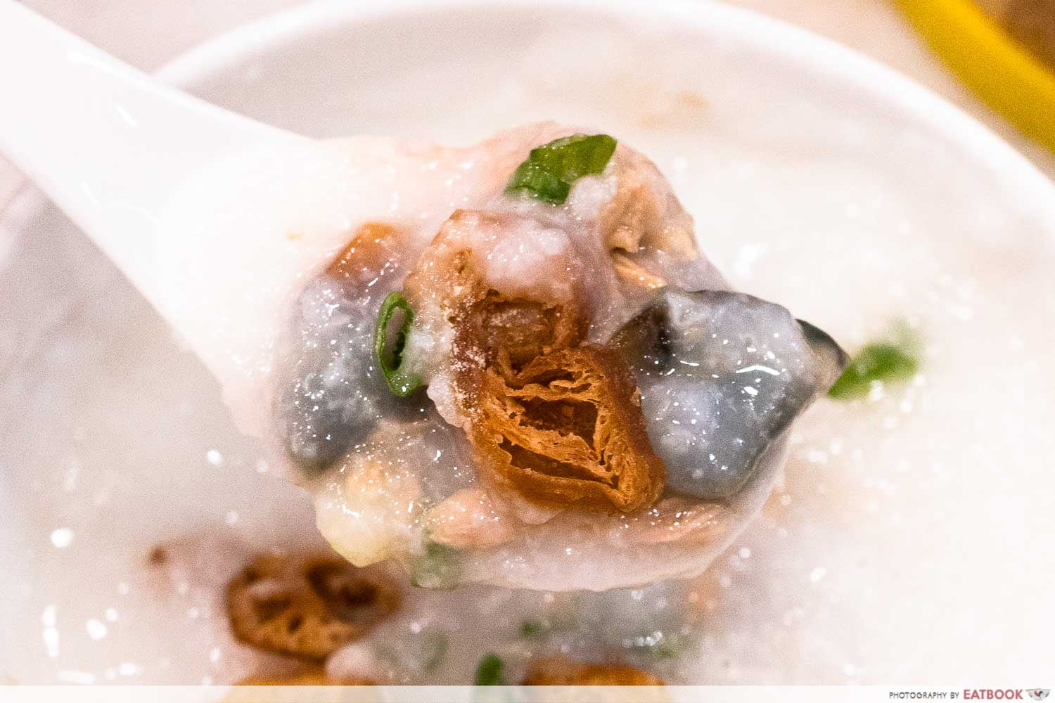 Lean Meat With Century Egg Congee
