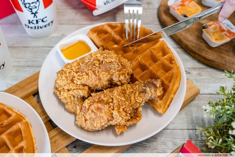 kfc chicken n waffles