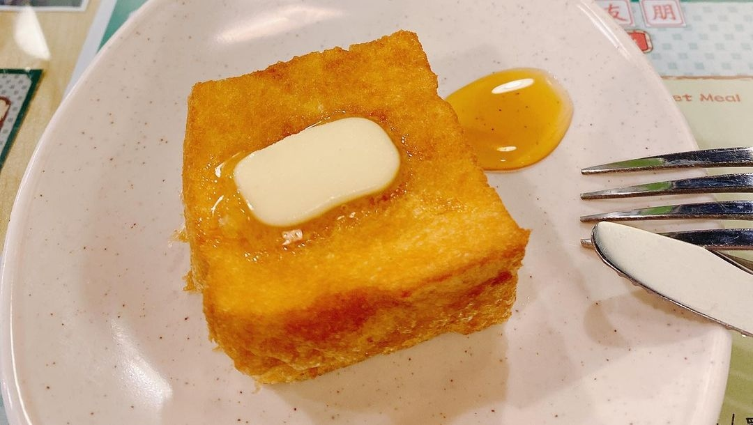 Friends Cafe HK French Toast