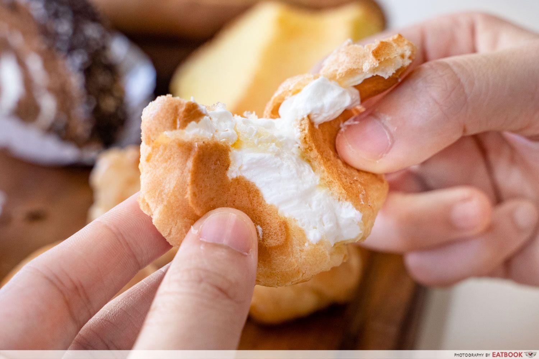 Hock ann confectionery custard puff