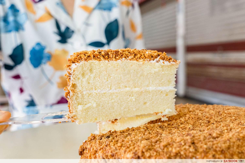 Hock ann confectionery peanut vanilla cake
