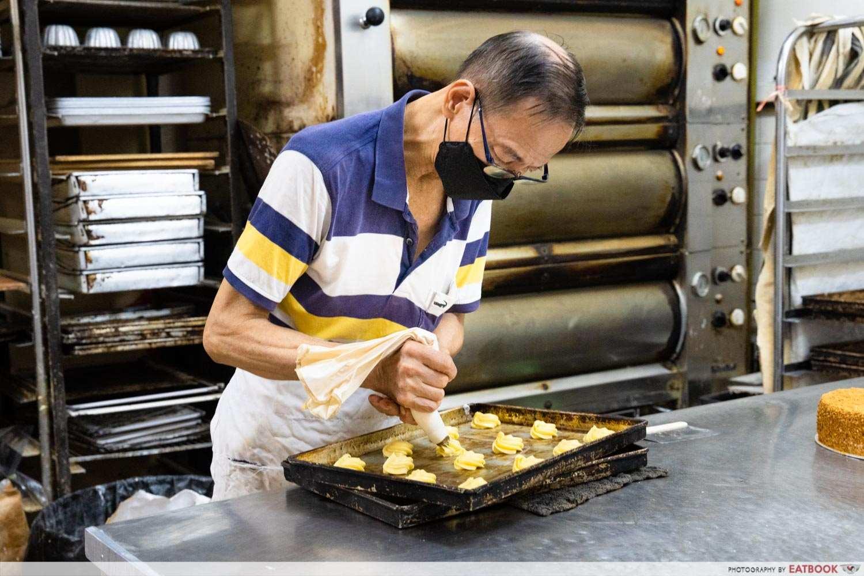 Hock ann confectionery tanglin halt uncle lee baking