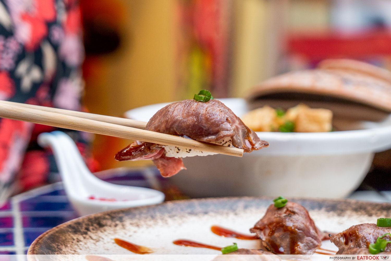 mamadiam sushi beef