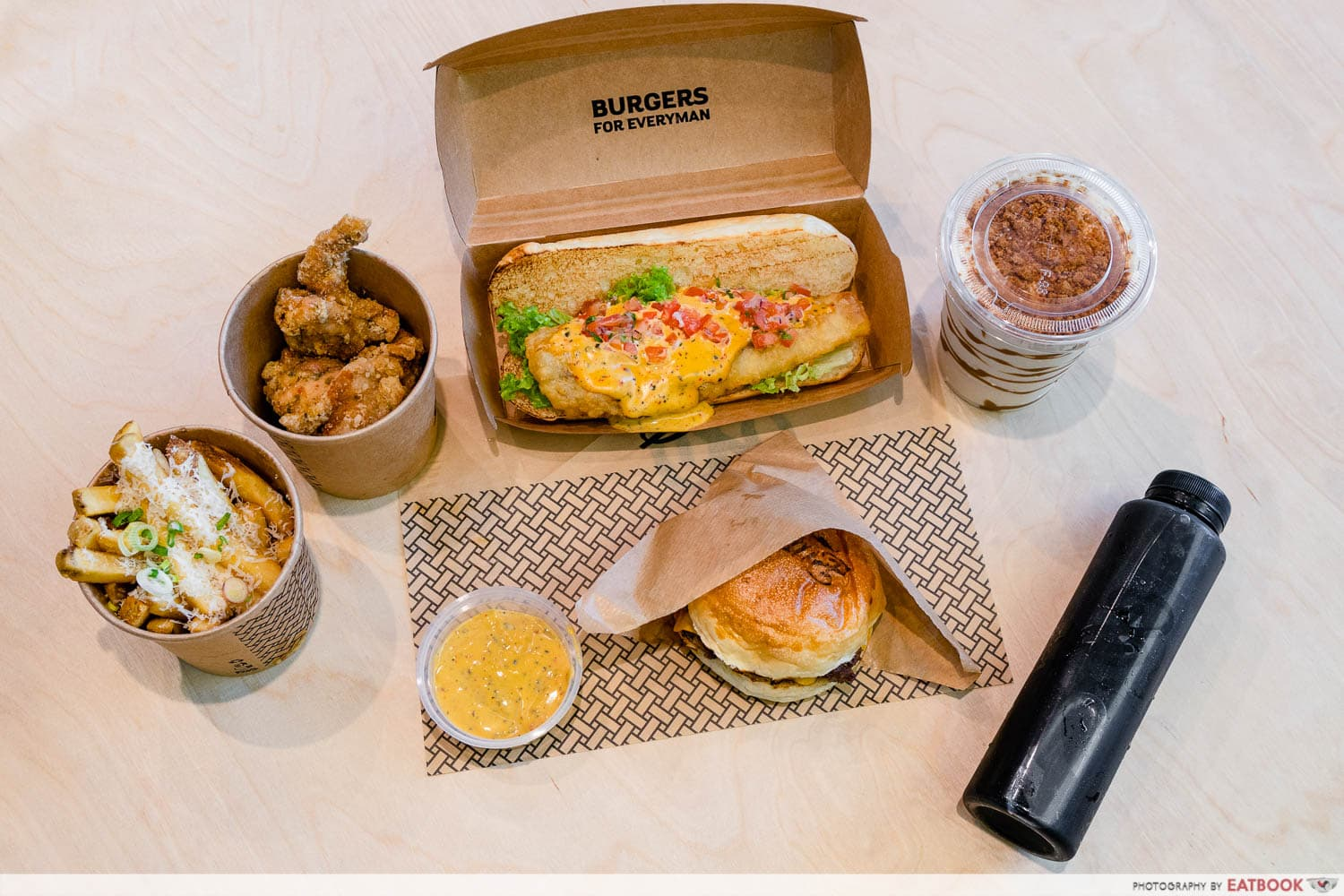 New restaurants in September - burgs by project warung