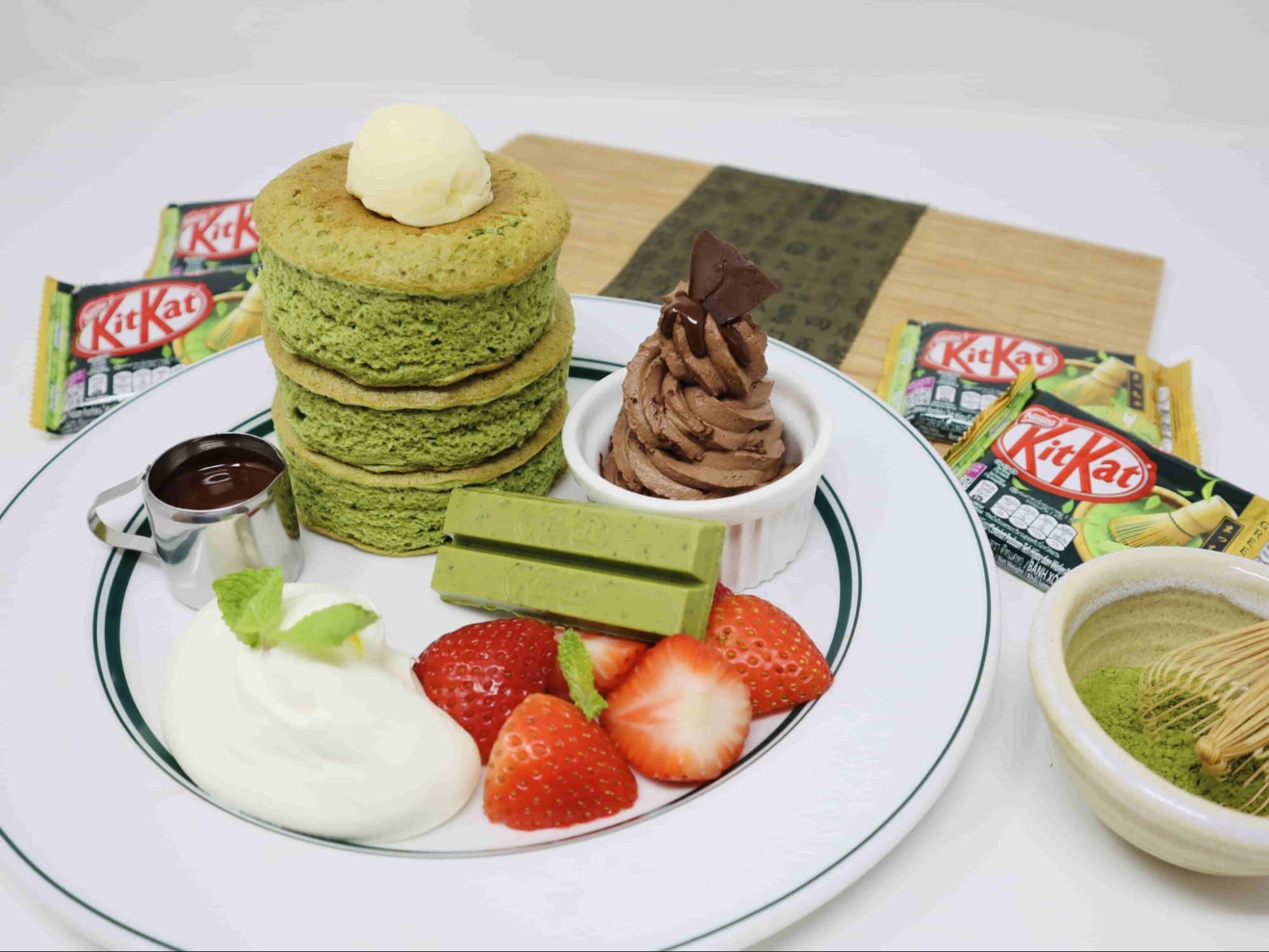 New restaurants in September - gram cafe and pancakes kit kat