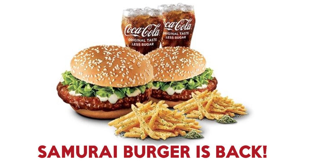 samurai burger 2021