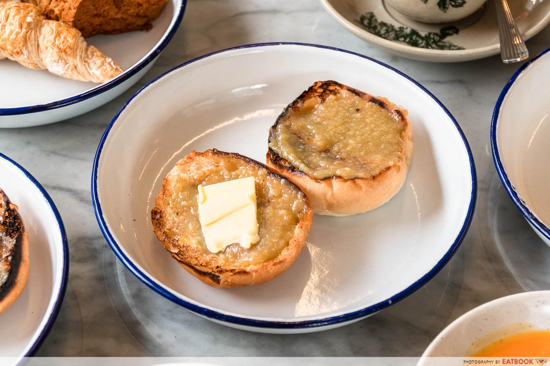 chin mee chin - kaya toast