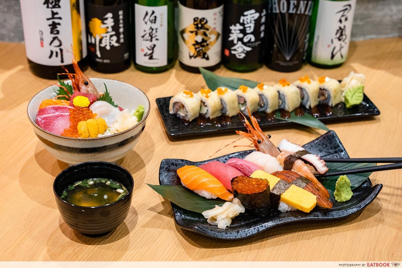 citi gourmet pleasures - douraku sushi